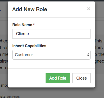 Crear Nuevo Rol Cliente