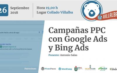 Campañas PPC con Google Ads y Bing Ads (por Antonio Salas)