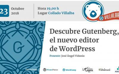Descubre Gutenberg, el nuevo editor de WordPress (por José Ángel Vidania)