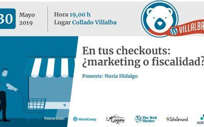 En tus checkouts: ¿marketing o fiscalidad? (con Nuria Hidalgo)